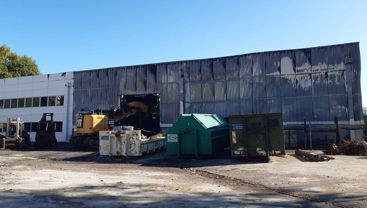 Fait Divers Saint Pee Sur Nivelle urrugne : un incendie dans l'entreprise lissardy