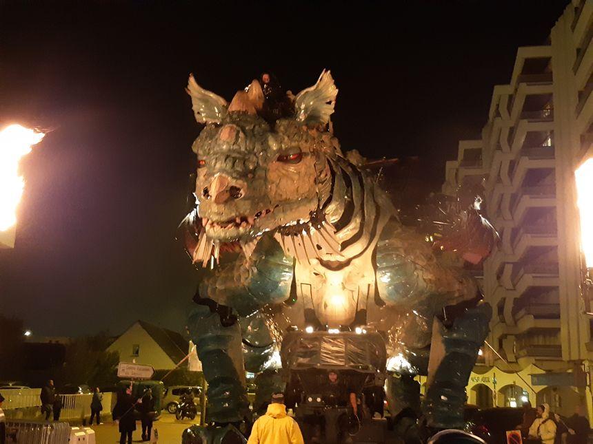Le Dragon des mers sera à la fête tout ce week-end, à Calais