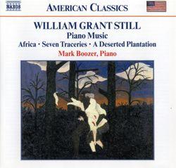 A deserted plantation : Spiritual - suite pour piano extraite de la partition orchestrale - MARK BOOZER