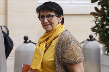 La présidente de la FNSEA, Christiane Lambert, à l'hôtel Matignon, le 5 septembre 2019.