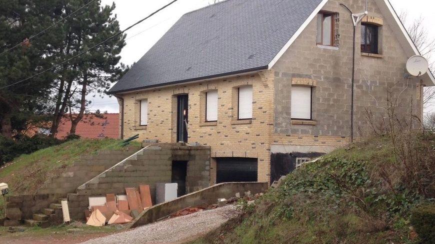 La maison de Lisbourg ou les gendarmes ont découvert Lilou