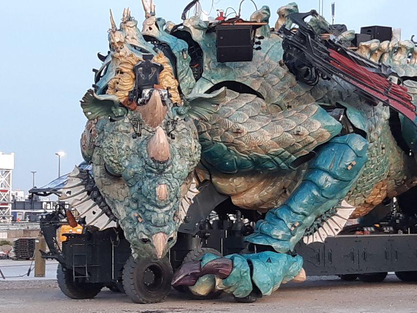 Un Dragon des mers, pour aider Calais à tourner la page des migrants.
