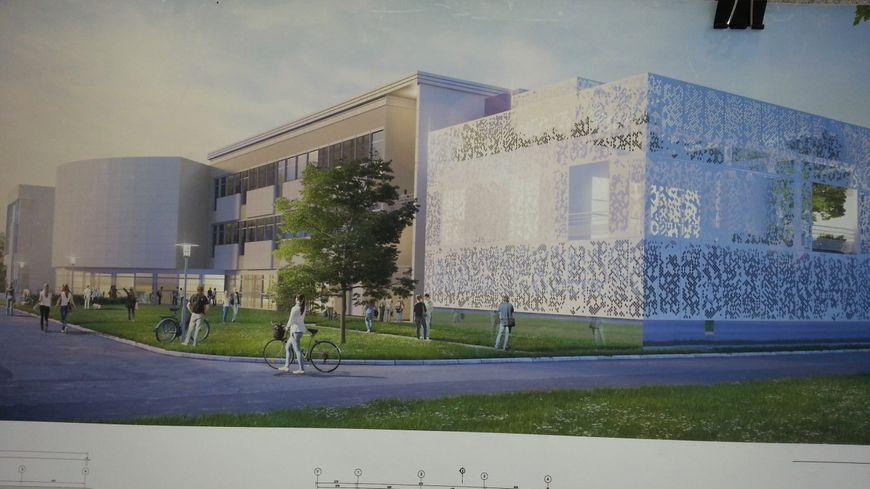L'INSA Centre Val de Loire, à Bourges va disposer de plus de 2.500 m2 supplémentaires