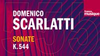 Scarlatti : Sonate pour clavecin en Si bémol Majeur K 544 L 497 (Cantabile), par Giulia Nuti