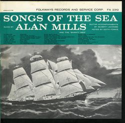 The drunken sailor - ALAN MILLS