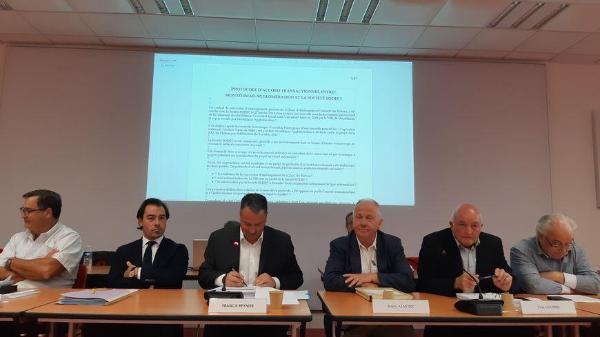 Conseil communautaire du 9 septembre 2019 à Montélimar