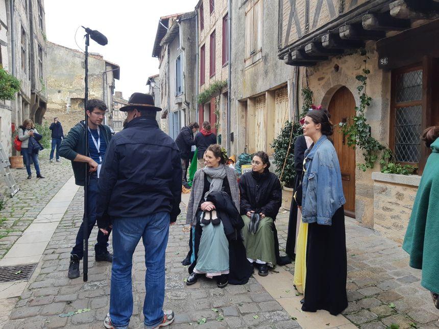 Le tournage a commencé lundi 28 octobre à Parthenay et se termine ce dimanche