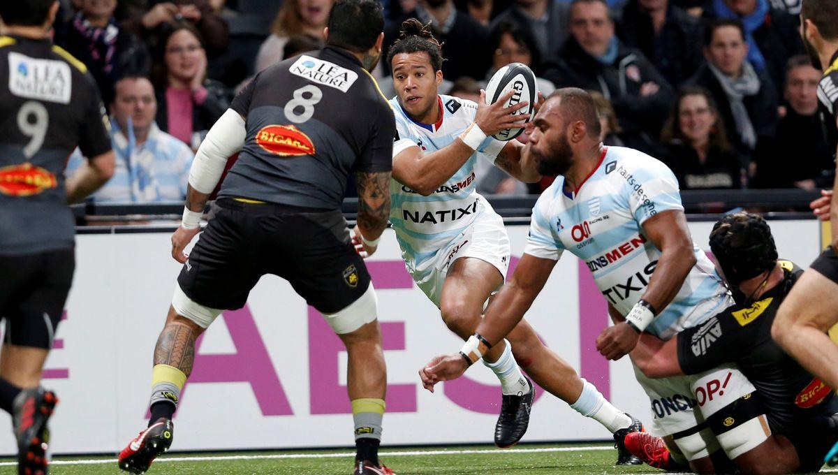 Rugby: le Stade Rochelais enchaîne une deuxième victoire à domicile face au Racing