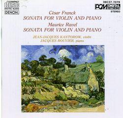 Sonate pour violon et piano : III. Perpetuum mobile - allegro - JEAN JACQUES KANTOROW