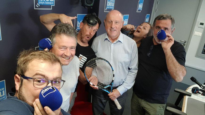 Jean-Pierre Ménard vice président de l'Aviron Bayonnais Football et l'équipe de Radio Kutzu !