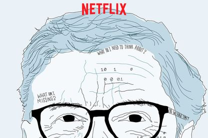 image promotionnelle de Netflix pour le documentaire