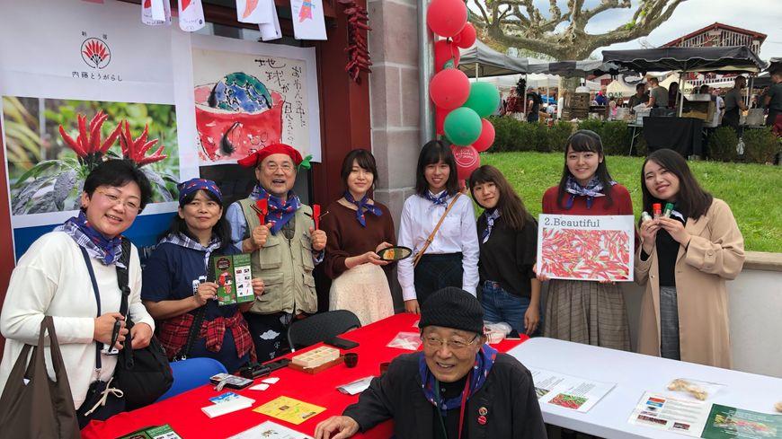 Une vingtaine de Japonais ont passé la semaine au Pays Basque