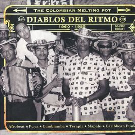 """Pochette de l'album """"Diablos del ritmo : the colombian melting pot / 1960-1985"""" par Wganda Kenya"""