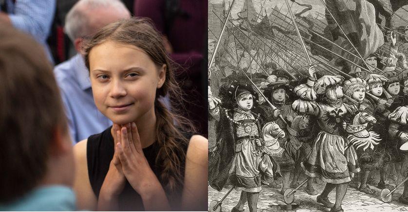 Greta Thunberg et la croisade des enfants de 1212