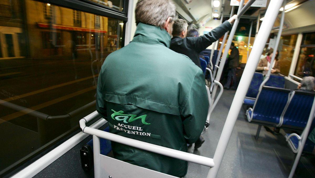 Nantes : un bus de la TAN à nouveau caillassé quartier Malakoff