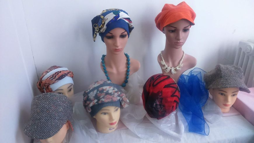Les chapeaux de Martine