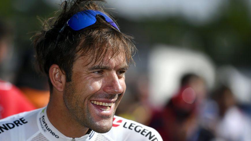 Amaël Moinard lors du Tour de France 2018
