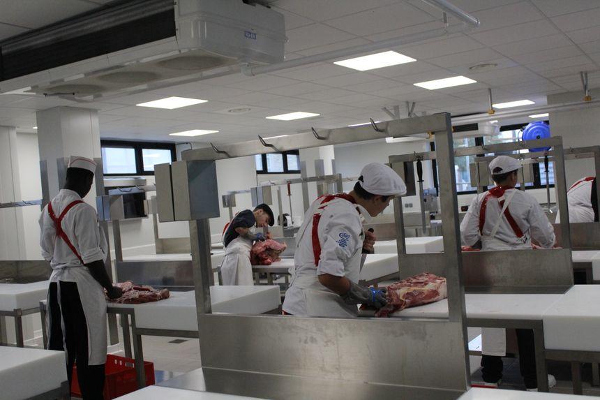 Plus de 200 personnes sont formés aux métiers de la bouche au CFA de Châteauroux