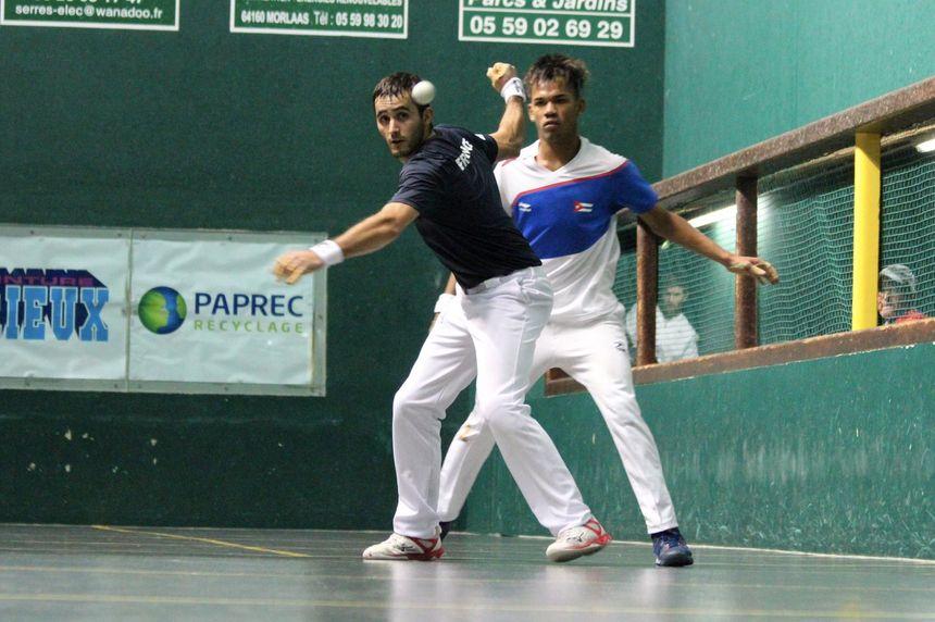 Matthieu Ospital s'est imposé 154; 15-9 contre John Linares