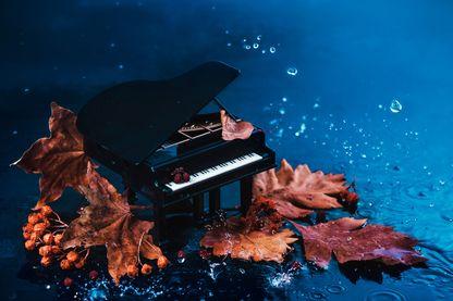 Sombre dimanche en piano