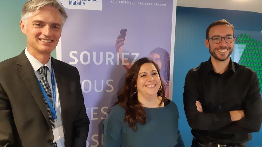 """Stéphane Holé, le directeur de la CPAM de l'Eure, et ses collaborateurs présentent cette semaine le dispositif """"Assistant médical"""" aux médecins du département"""