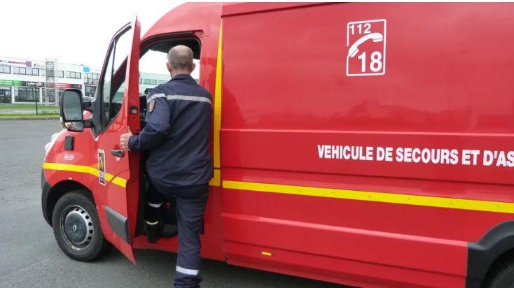 Plusieurs véhicules de secours sont mobilisés