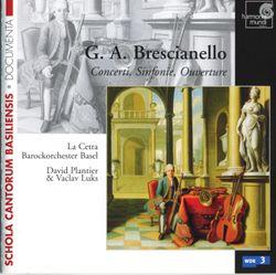 Chaconne en La majeur pour 2 violons, 2 altos et basse continue