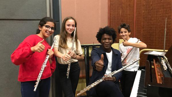 Leçon d'improvisation avec un jeune musicien #8