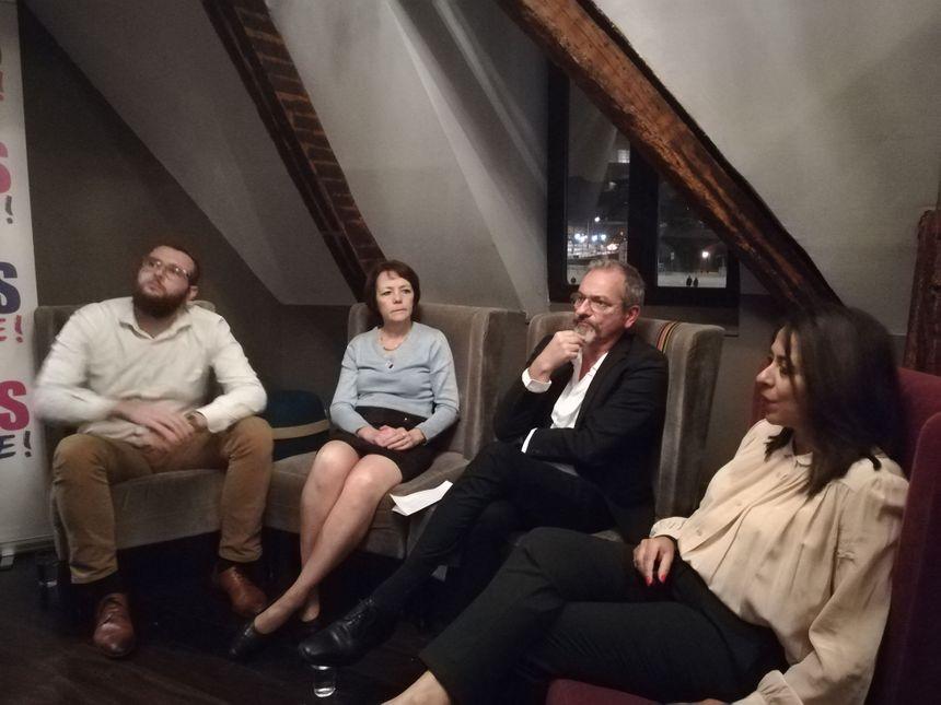 Gilles Guerchet à la présentation de sa candidature aux municipales 2020