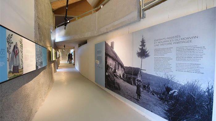le musée des nourrices et des enfants de l'assistance publique, à Alligny-en-Morvan