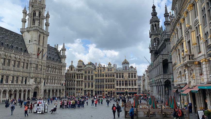 La Grand Place à Bruxelles. A compter du 16 décembre 2019, il y aura des TGV directs entre Le Mans et Bruxelles.
