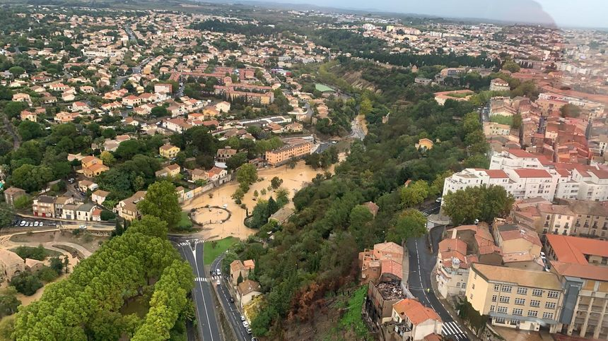 L'Hérault sous les eaux