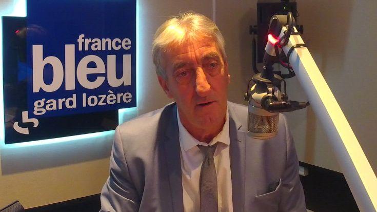 Denis Bouad, le président du département du Gard