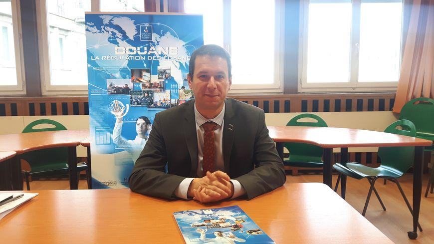 Nicolas Le Gall, directeur régional des Douanes à Clermont-Ferrand