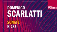 Scarlatti : Sonate pour clavecin en La Majeur K 285 L 91 (Andante allegro), par Violaine Cochard