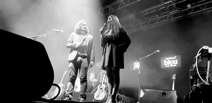 Aurélie Garcia et Antoine Plouzennec qui vous ont présenté cette soirée à Châtellerault.