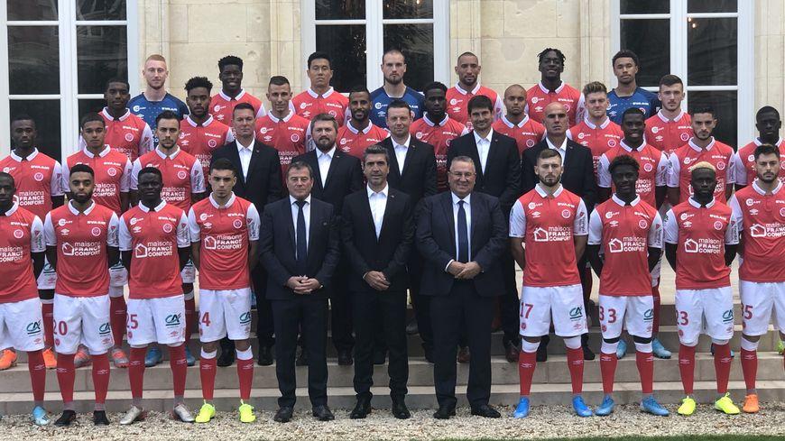 Photo Le Stade De Reims Immortalise Son Effectif De La Saison