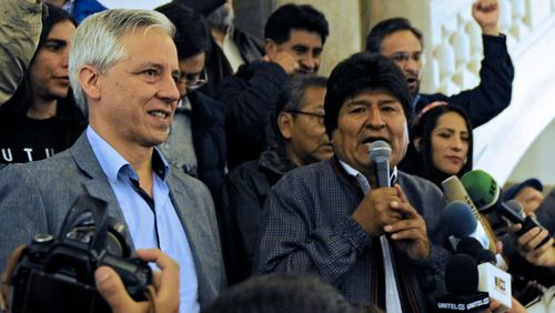 En quête d'un quatrième mandat, le Bolivien Evo Morales contraint à un second tour