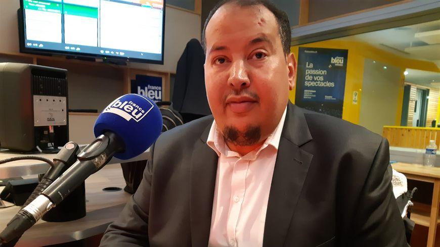 Mustapha Ettaouzani, président, de l'union des associations musulmanes de l'Orléanais