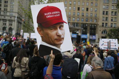 Marche anti-Trump à New-York, en juin 2017.