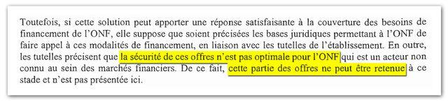 Extrait du procès-verbal du conseil d'administration de l'ONF du 24 septembre 2012.