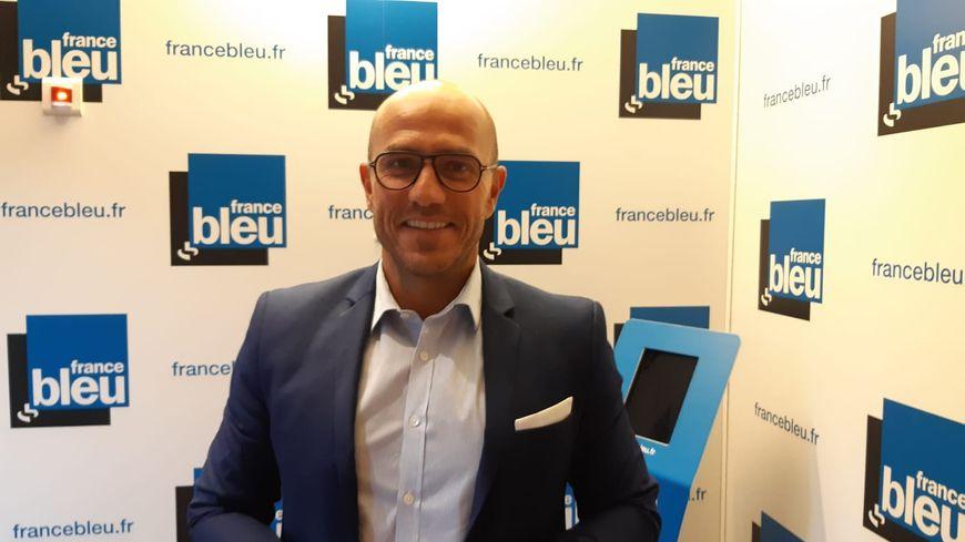 Ludovic Fagaut, le candidat des Républicains à Besançon pour les élections municipales de 2020.