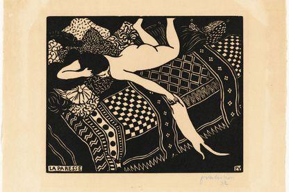 """""""La Paresse"""" par Félix Vallotton (1896)"""