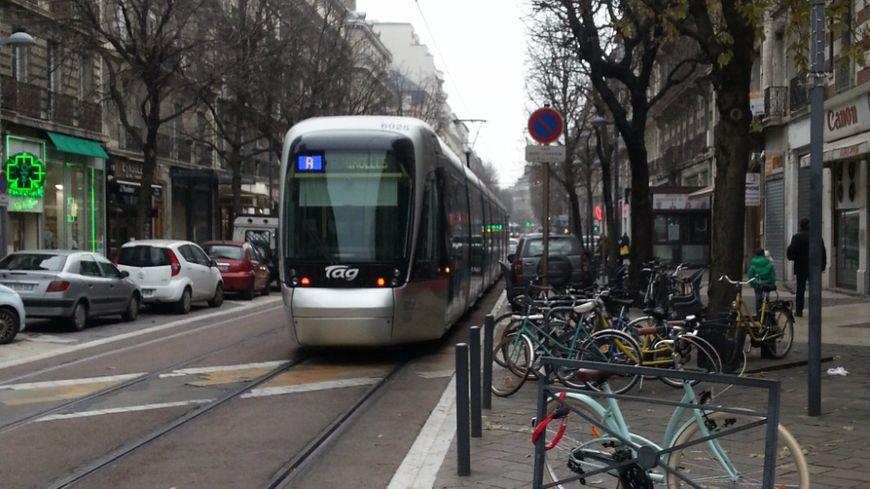 Un tramway grenoblois (Photo d'illustration)