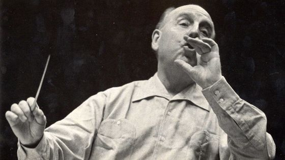 Le chef d'orchestre Paul Paray