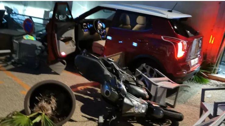 La photo du véhicule, quelques instants après l'accident - Thierry Kovacs