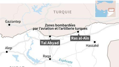 L'armée turque est entrée en Syrie