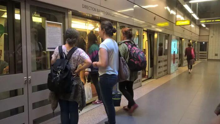 Le métro toulousain (illustration)