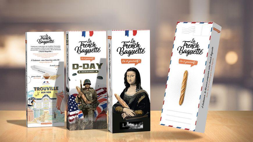 """L'emballage du kit """"French Baguette"""" a été modifié pour le Louvre"""