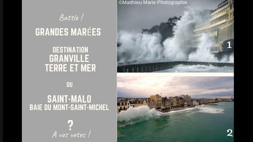 Granville ou Saint-Malo ? A vos votes.